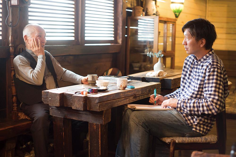 対談:ナカムラクニオ ×谷川俊太郎「ことば」と「つくろい」