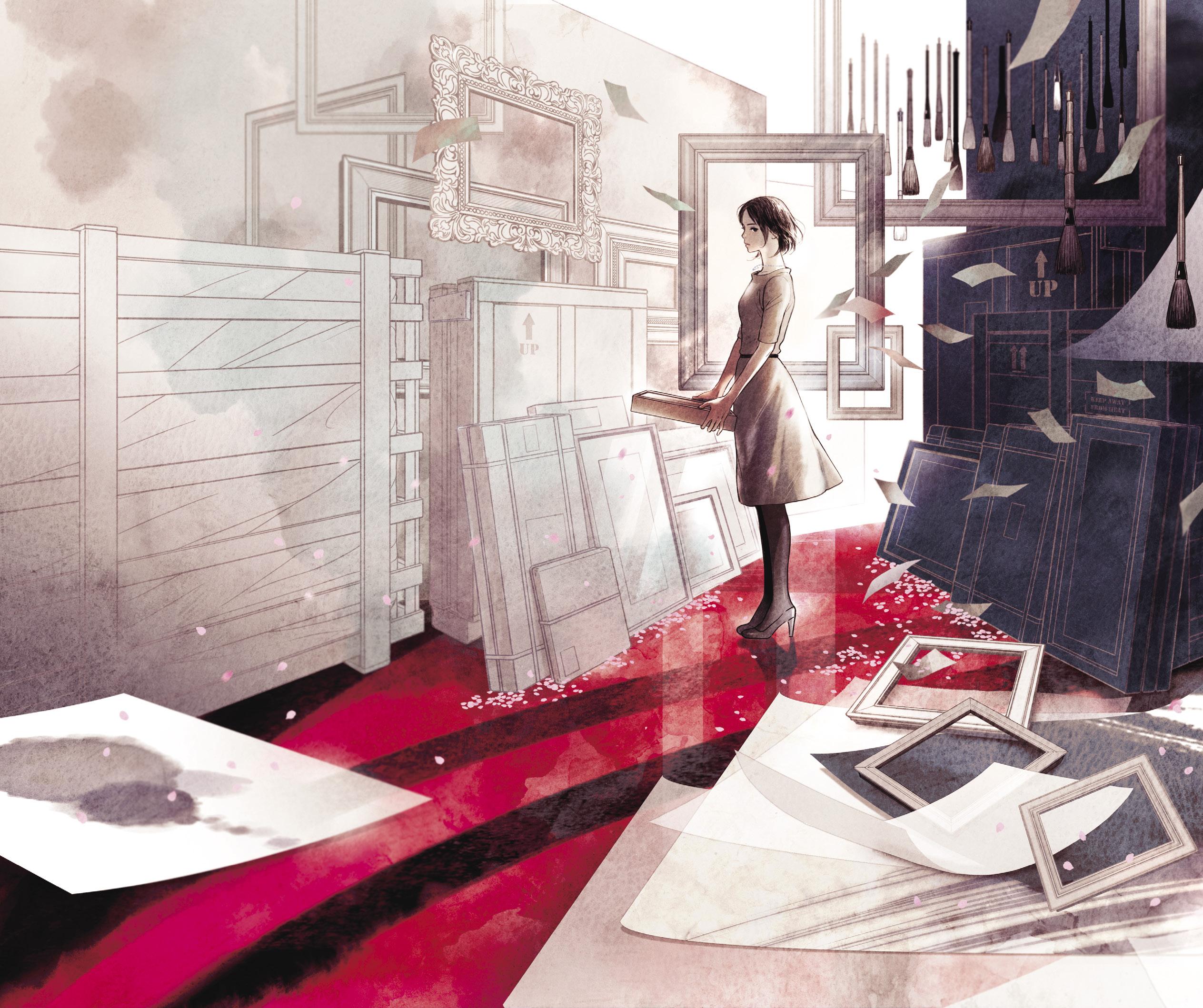書籍装画のクリエイティビティのヒミツ 対談:坂野公一✕丹地陽子