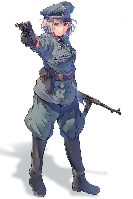 銃の持ち方 構え方は正確に描写しよう 作画のための第二次大戦軍服
