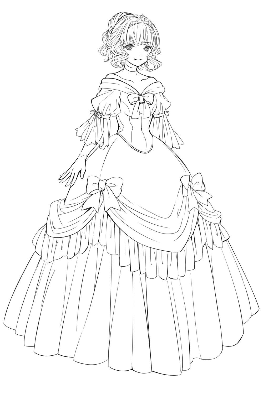 定番のファンタジー衣装の描き方をおさらいしよう