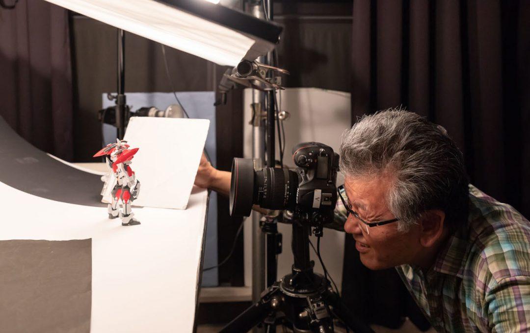 模型撮影ライティングの基本セッティング