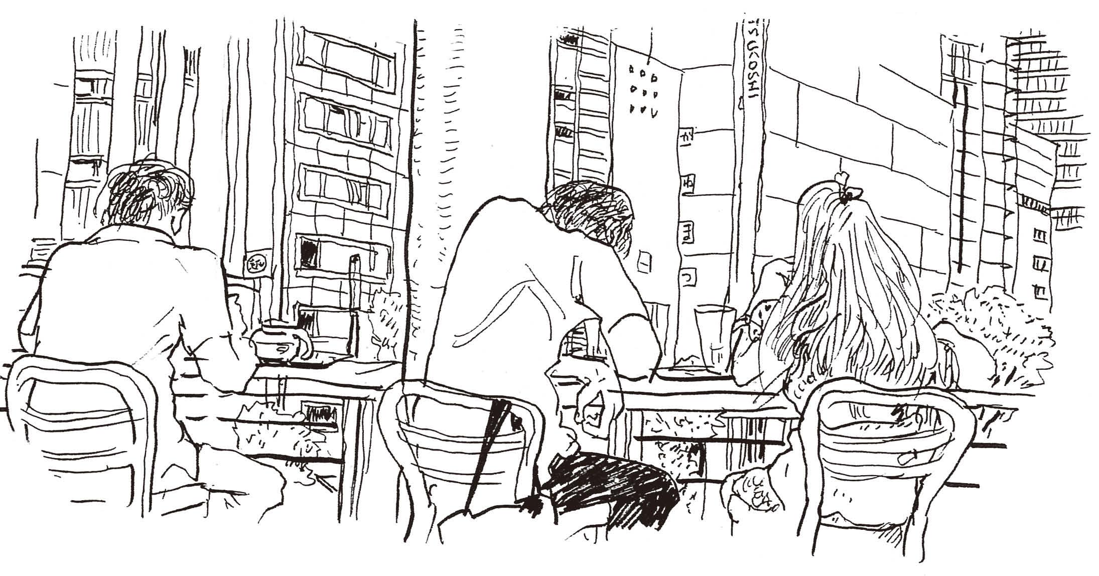 永沢まことの週末は街スケッチ-08