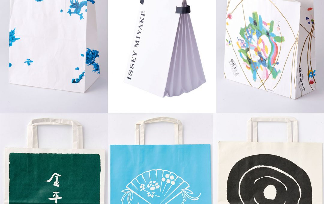紙袋で表現されるブランドの個性