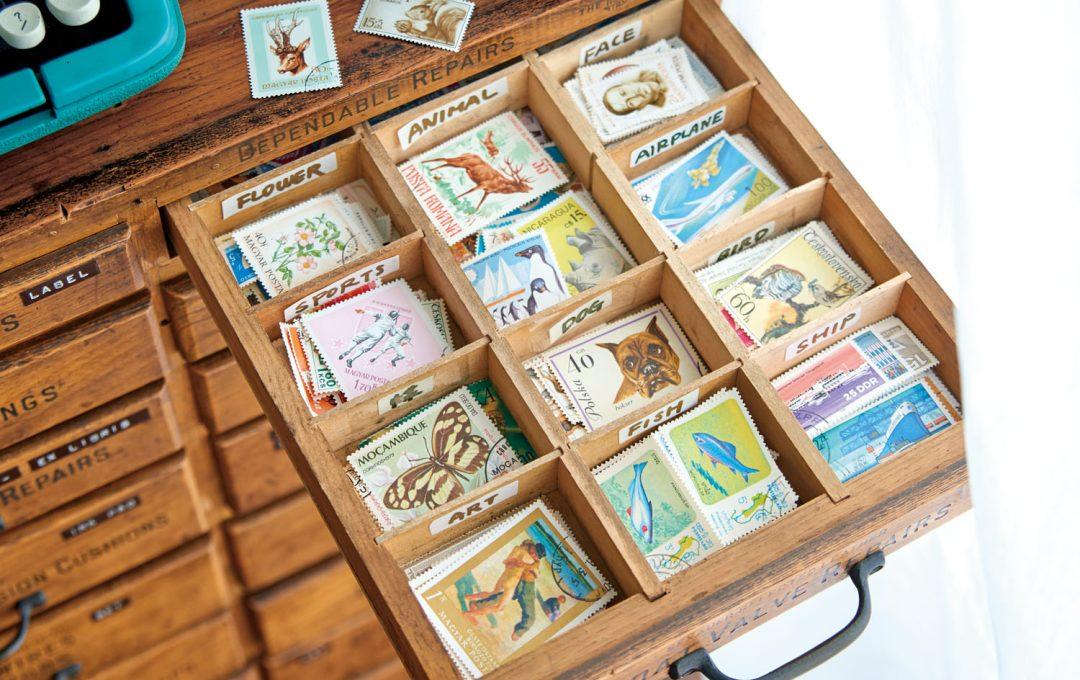 国内外の切手コレクション 地域の文化や時節を表現する「切手」の世界