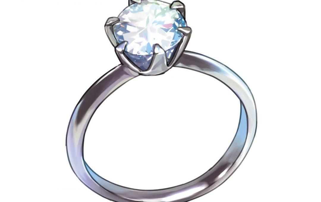 小物イラストのヒケツ・人の属性や個性を表現する「指輪」の見せ方