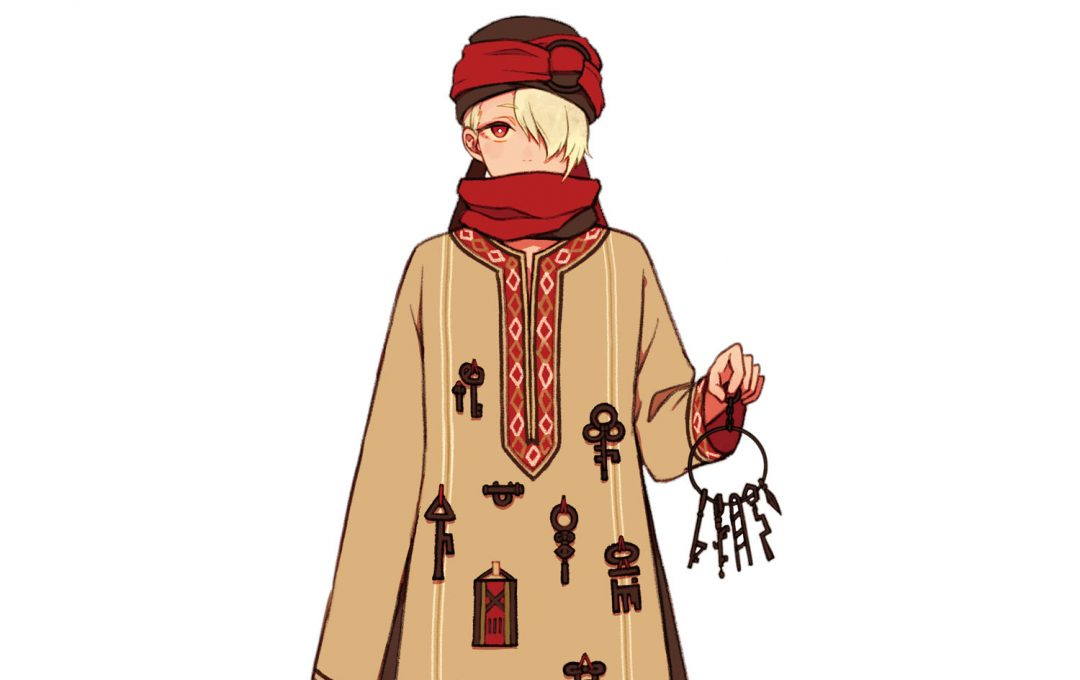 「ファンタジー×民族衣装」元衣装のテイストを活かしたモチーフの組み合わせ