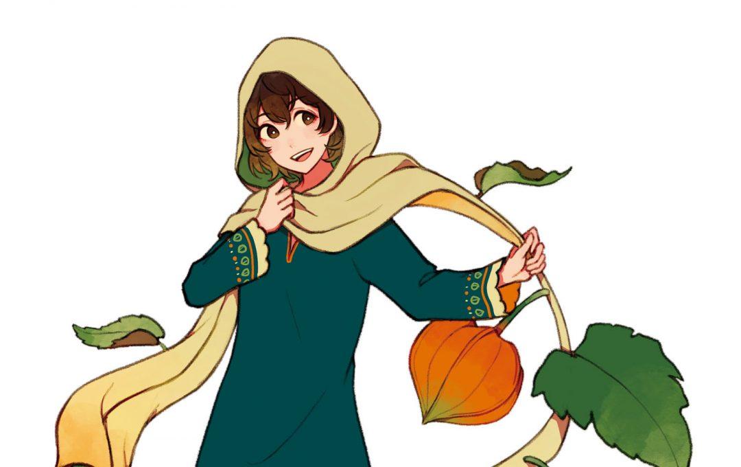「鬼灯×民族衣装」のアレンジ例〜色彩と質感でキャラの印象を変える〜