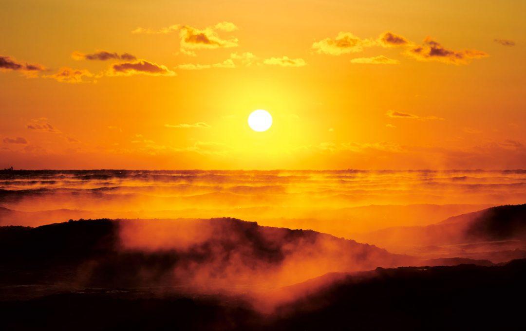 四季の空を撮る!撮るチャンスの短い「けあらし」は気温と風、場所選びが重要
