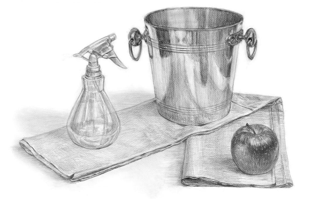 初心者デッサンの教科書〜デッサンの基本は「楕円」。モチーフの形は正確に描写しよう