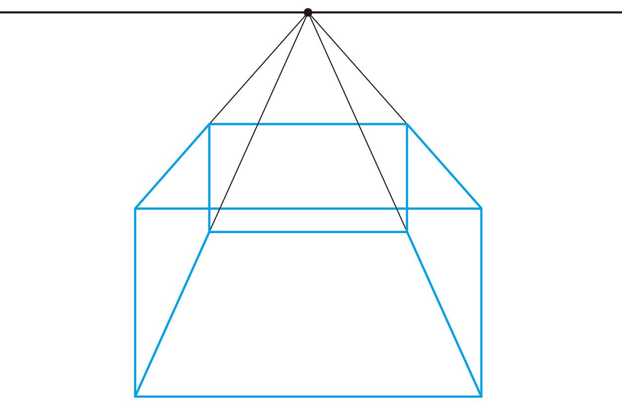 図法 透視 建築パースを徹底研究!パース理論の基礎知識と描き方