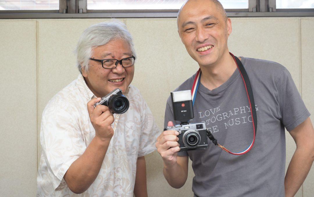 写真家対談:笠井爾示 × 赤城耕一 (前編)「写真って答え合わせをするよりも、想像を膨らませている方が面白いと思うんですよ」