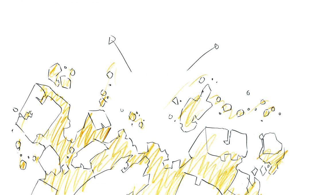 アニメーションのエフェクト作画テクニック「破壊」と「破片」を表現する