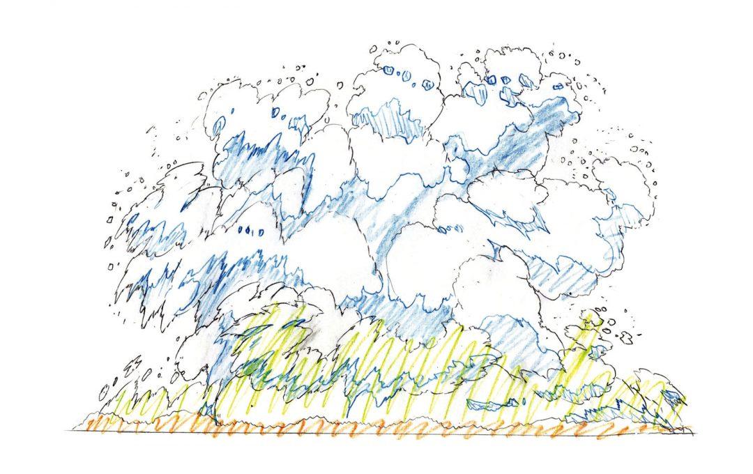 プロのアニメ作画テクニック「爆発による水柱」は重力を意識して描写する
