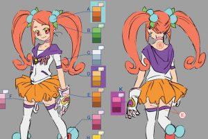 アニメーションの色彩設計【基礎編】シチュエーション別の色指定と表の見方
