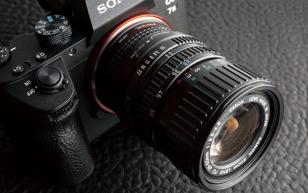 オールドレンズの中でもあまり注目されてこなかった「ほどよい樽型歪曲収差」を楽しむ New FD 28-55mmF3.5-4.5