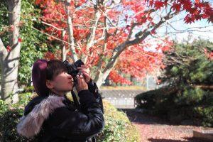 全掲載作品フィルムカメラで撮影!大村祐里子、絶賛撮影中なう!