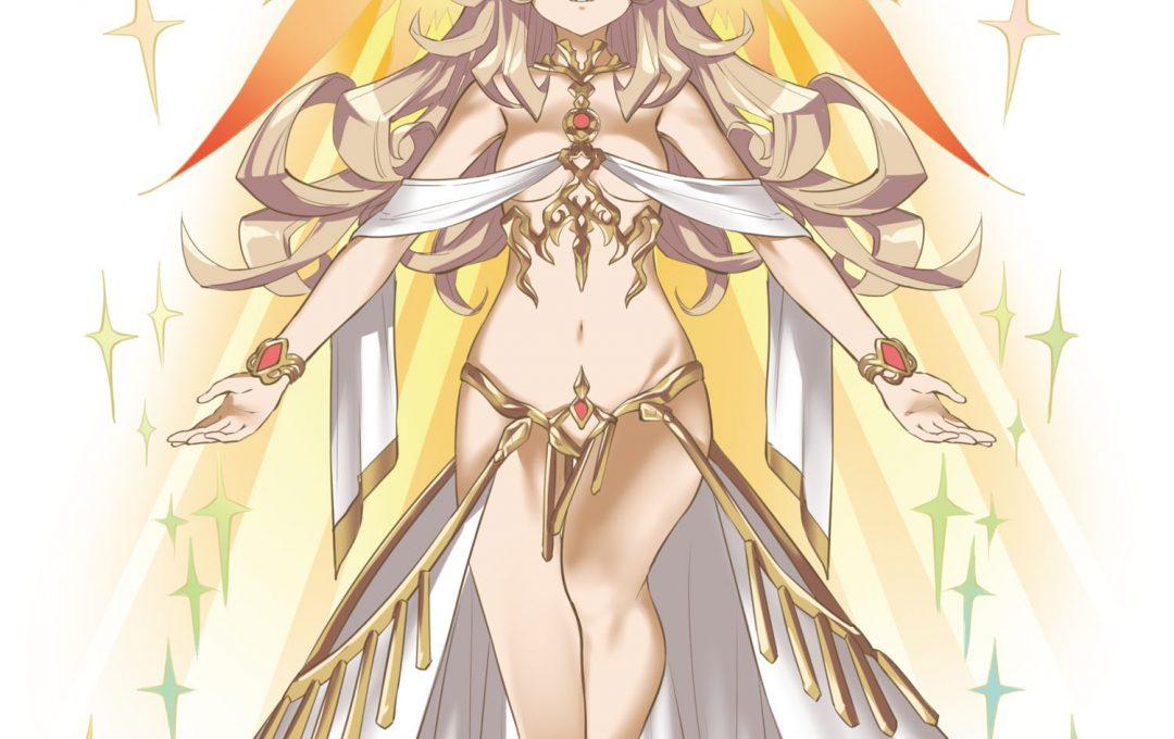 ファンタジーコスチューム〜人間離れした「女神」のイメージを強める装飾デザイン