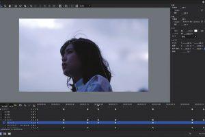 「MV製作におけるグレーディング」暖色を残し寒色を引き立て、「青い世界」を印象的に表現する