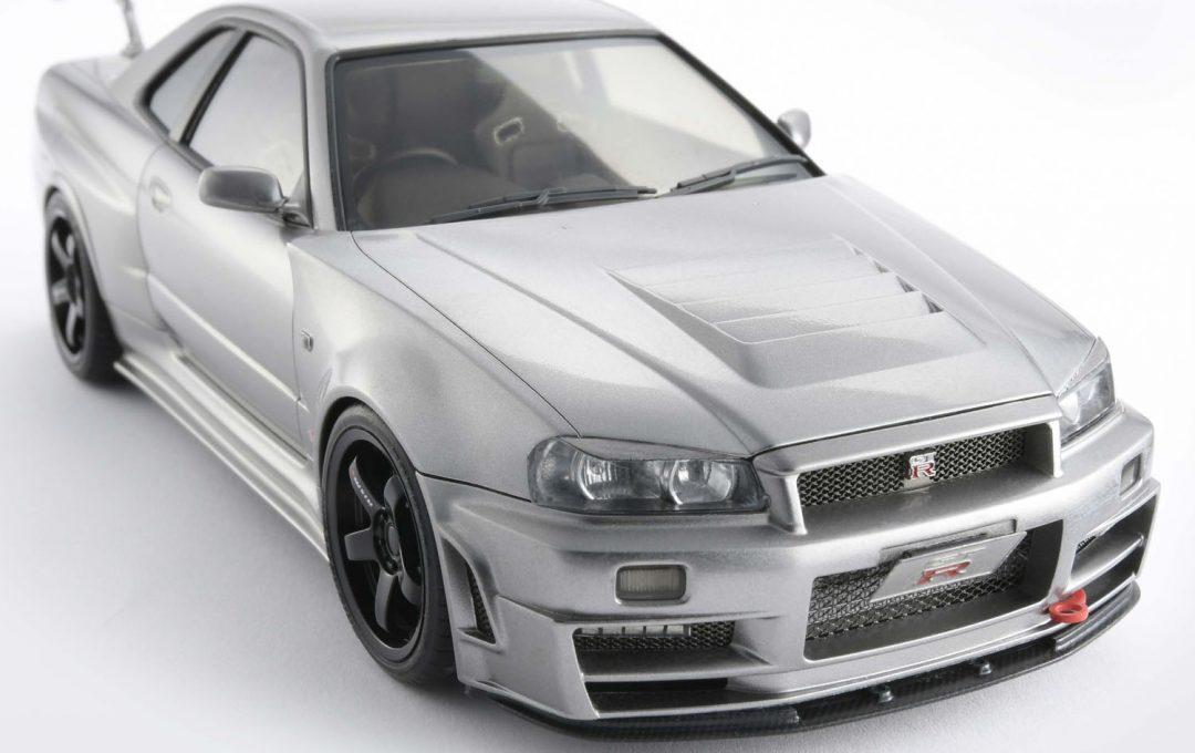 車模型を愛車カスタムで組んでみた ニッサン スカイライン GT-R
