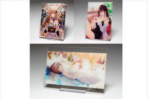 【限定生産】初音ミクや「Fate/Grand Order」関連イラストなどを手掛けるイラストレーターnecömiオリジナル商品「直筆サイン入りアクリルアートボード」を受注販売!