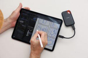 青木俊直が使う、iPad Proの「駆け込み寺」サンディスク エクストリーム ポータブルSSD
